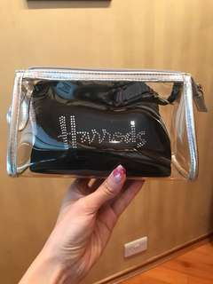 Harrods makeup bag