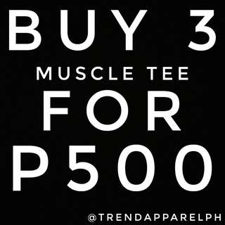 Buy 3 For PHP500