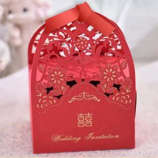 Wedding Favor Gift For Guest (Candy Box)