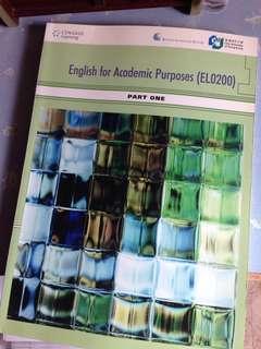 CityU - English for Academic Purposes (EL0200)