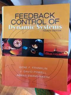 Feedback control of dynamic systems fourth edition