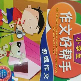 Chinese composition books PSLE primary