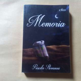 "Novel ""Memoria"""