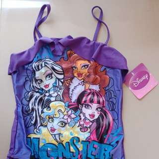 Monster High Swim Suit Bathing Suit