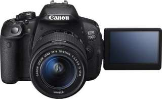 Kredit Canon EOS 700DL Kit 18-55mm STM dp ringan tanpa cc