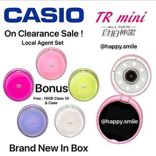 On Clearance Sales ! Casio TR Mini (BNIB)