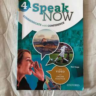Speak now book 4