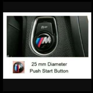 BMW push start emblem