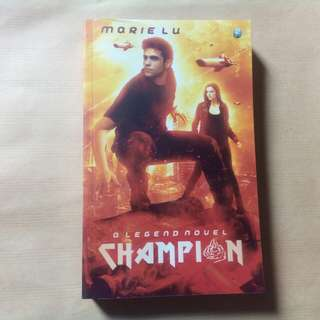 "Novel Terjemahan ""Champion"""