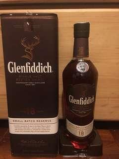 (1L)Glenfiddich 18年威士忌單一whisky single malt