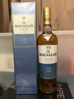 macallan 12-years-fine-oak single malt whisky