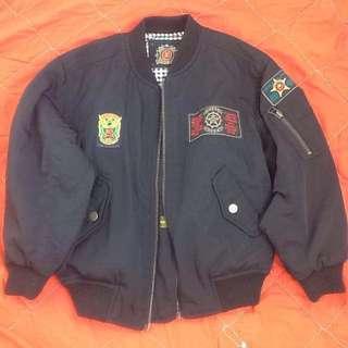 Crop reversible bomber jacket (free shipping)