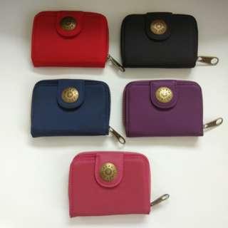 Kipling - Short wallet with zipper (metal logo)