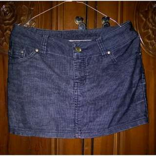 Korean skirt jeans size M to L ( rok jeans / casual skirt )