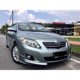 2011 Toyota Altis 1.8 (A) G FUL SPEC ORI CONDITION