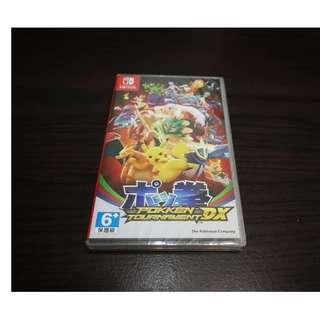 全新未拆 任天堂 NS Nintendo Switch 寶可拳 DX