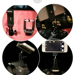 DSLR Camera phone holder