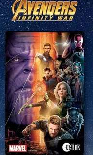Selling limited edition Marvel Avengers Infinity War Ezlink card