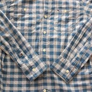 Tommy Hilfiger 天藍色長袖恤衫