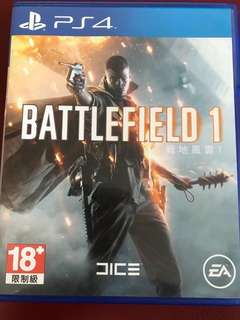 ps4 戰地風雲1 Battlefield 1