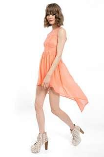 TOBI UP AND AROUND COMBO DRESS