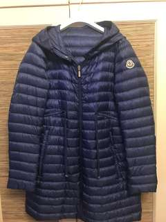 Moncler down Barbel size 2 93% new with hood for only $4280