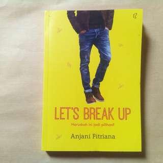 """Novel """"Let's Brake Up"""""""