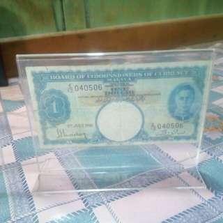 Bococ Malaya 1 Dollar