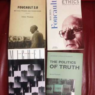 Philosophy books by Foucault