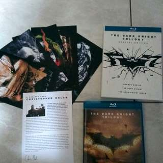 The dark knight trilogy special edition (blu-ray)