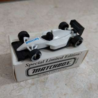 Vintage Matchbox Racing Car, limited Edition pieces