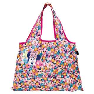 Japan Disney Minnie Mouse Compactly Foldable Shopping Eco Bag