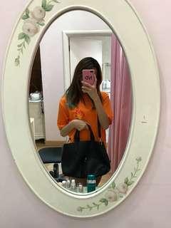 H&M leather sling shoulder bag