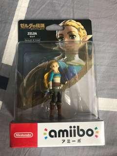 全新 amiibo nintendo switch zelda 薩爾達傳說 公主 任天堂 女主角