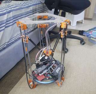 Rostock Mini Delta 3D Printer