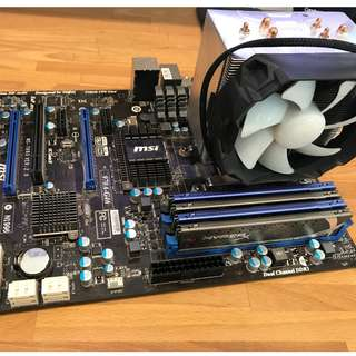AMD FX6300 & 16gb RAM & MSI Motherboard