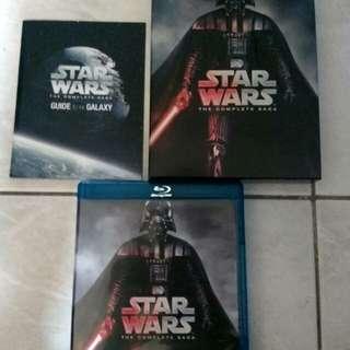 Star wars the complete saga (blu-ray)