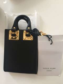 Sophie Hulme Albion Tote Card Holder Black
