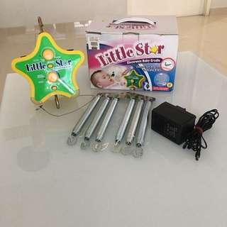 Electronic Baby Cradle Set (Motor + Frame)