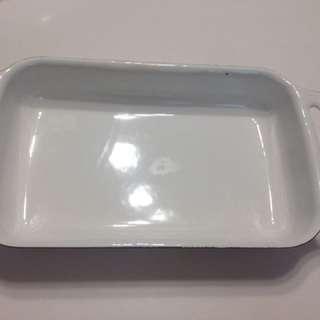 🚚 20cm長型琺瑯鍋
