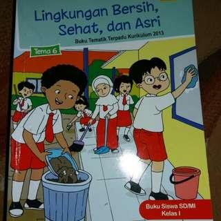 Buku edisi lingkungan bersih dan asri