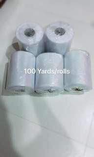 Tutu Tulle rolls (white) 100 yards