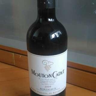 Mouton Cadet 武當波爾多紅酒2009