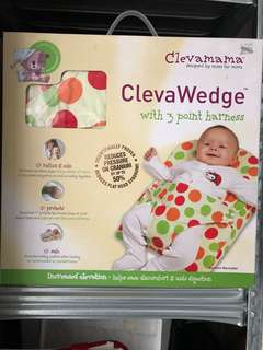 Clevamama ClevaWedge pillow with 3 point harness