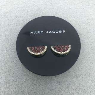 Marc Jacobs Sample Earrings watermelon stud 西瓜閃石耳環