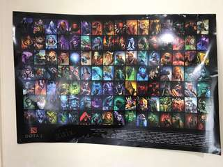 Dota 2 The International Poster
