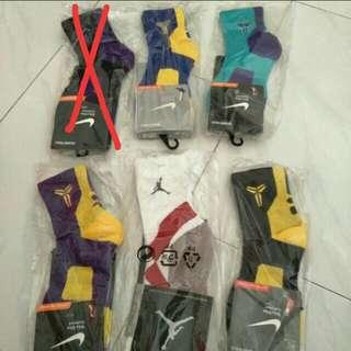 Nike Basketball Socks Kobe us 8 9 10 11 12 large Black blue yellow purple la lakers elite
