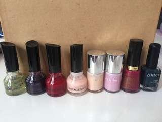 Good condition set of nail polish