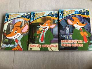 Geronimo Stilton DVD