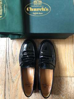 Church's Patent Black Loafer